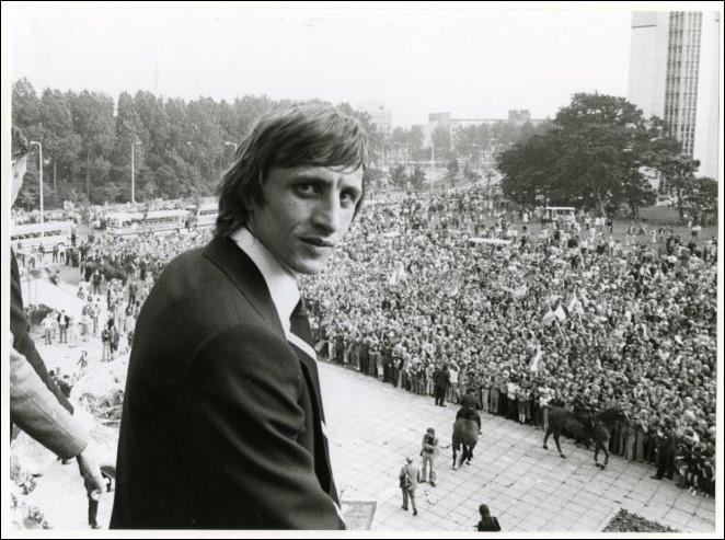 Johan Cruyff/Nederlands Elftal Huldiging