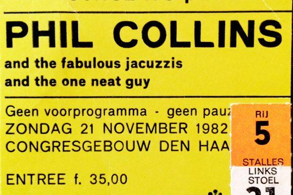 Phill Collins 21 november 1982