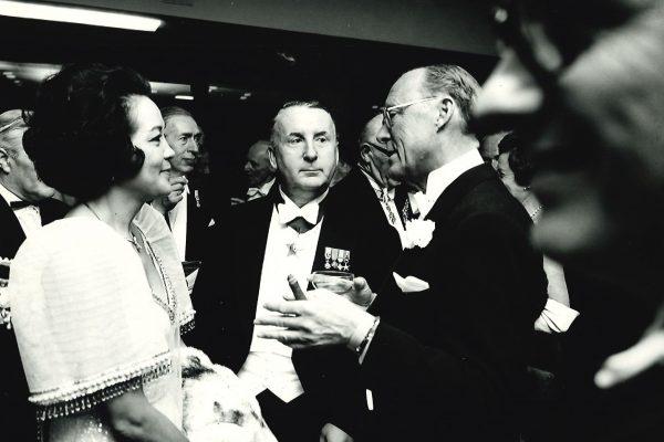 Prins Bernhard tijdens Opening 1969
