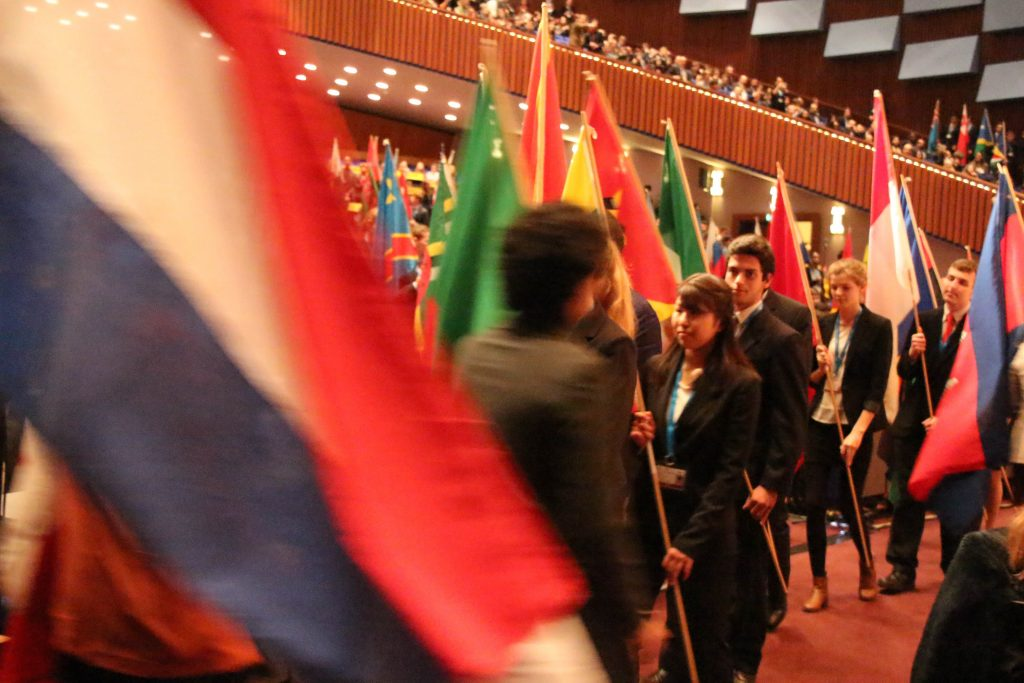 World Forum hosts THIMUN for the first time